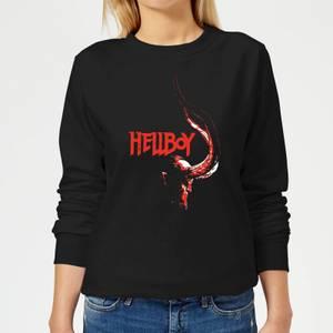 Hellboy Profile Women's Sweatshirt - Black