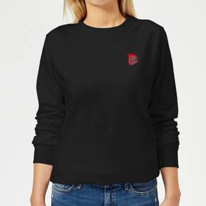 Hellboy Emblem Women's Sweatshirt - Black