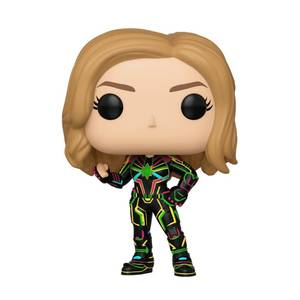 Marvel - Captain Marvel con Tuta Neon Figura Pop! Vinyl