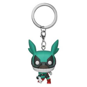 My Hero Academia Deku with Helment Pocket Funko Pop! Keychain