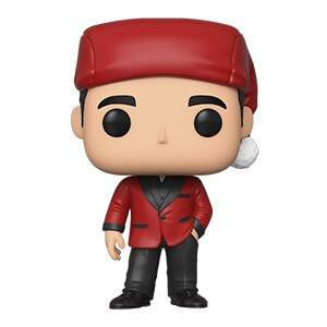 The Office Michael as Santa Bond Pop! Vinyl Figure