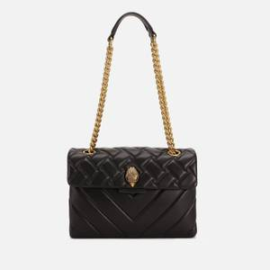 Kurt Geiger London Women's Leather Kensington X Bag - Black