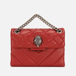 Kurt Geiger London Women's Mini Kensington Cross Body Bag - Red