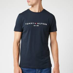 Tommy Hilfiger Men's Tommy Logo T-Shirt - Sky Captain
