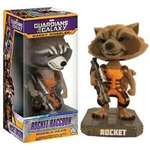 Figura Funko Wacky Wobbler Marvel Rocket Racoon