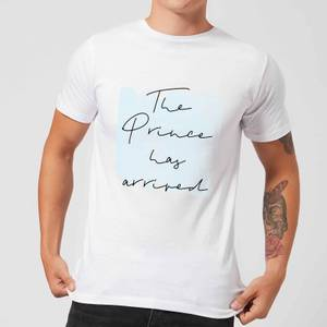 The Prince Has Arrived Men's T-Shirt - White