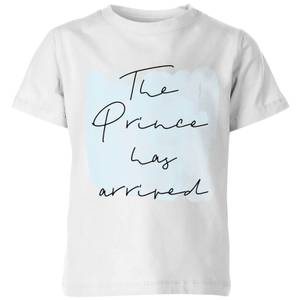 The Prince Has Arrived Kids' T-Shirt - White