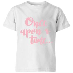 Once Upon A Time Kids' T-Shirt - White
