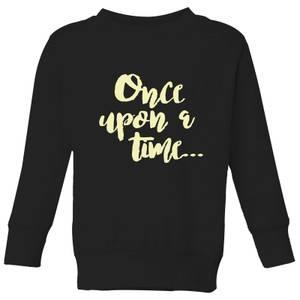 Once Upon A Time Kids' Sweatshirt - Black