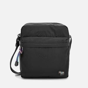 PS Paul Smith Men's Zebra Logo Flight Bag - Black