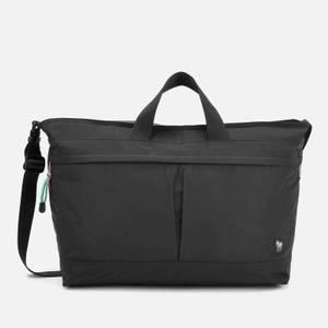 PS Paul Smith Men's Zebra Logo Canvas Weekend Bag - Black
