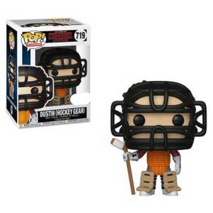 Figurine Pop! Dustin En Tenue De Hockey EXC - Stranger Things