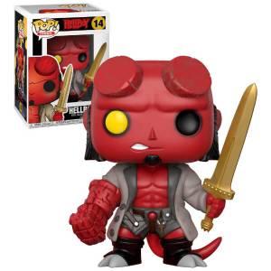 Hellboy - Hellboy con Spada Figura Pop! Vinyl Esclusiva
