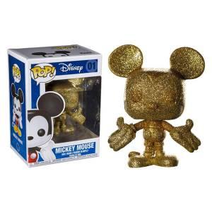 Disney - Topolino Glitter Figura Pop! Vinyl Esclusiva