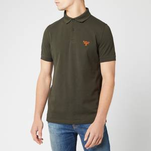 Barbour Beacon Men's Polo Shirt - Forest