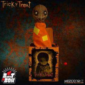 Mezco Trick 'r Treat Sam Burst-a-Box