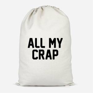 All My Crap Cotton Storage Bag