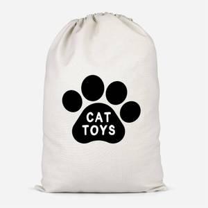 Cat Toys Paw Cotton Storage Bag