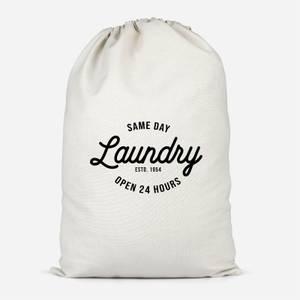 Same Day Laundry Cotton Storage Bag