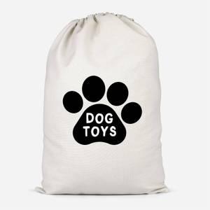 Dog Toys Paw Cotton Storage Bag