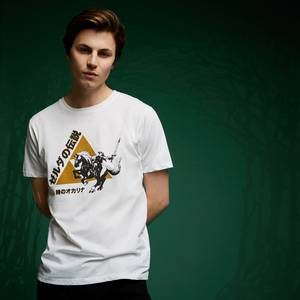 Legend Of Zelda Link Triforce T-Shirt - White