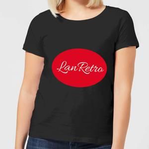 Lanre Retro Lanretro Logo Women's T-Shirt - Black