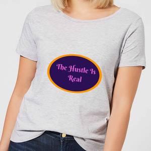 Lanre Retro The Hustle Is Real Women's T-Shirt - Grey