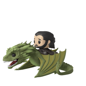 Game of Thrones Jon Snow with Rhaegal Pop! Ride