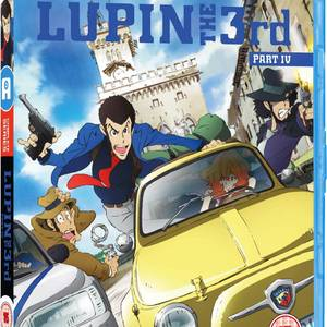 Lupin the 3rd Part IV - Complete Series Standard Edition