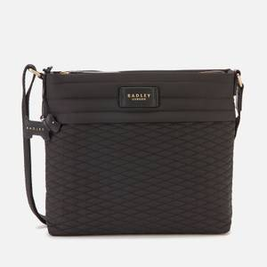 Radley Women's Penton Mews Medium Cross Body Bag Ziptop - Black