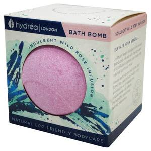 Hydrea London Indulgent Wild Rose Bath Bomb 2 x 60g