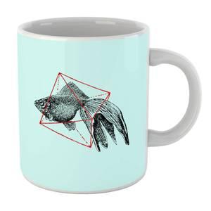 Fish In Geometry Mug