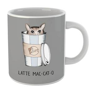 Latte Mac-Cat-O Mug