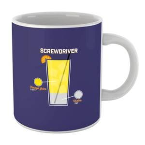 Infographic Screwdriver Mug