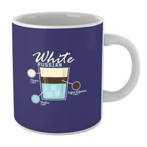 Infographic White Russian Mug