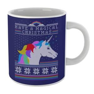 Have A Magical Christmas Fair Isle Mug