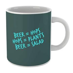 Beer Salad Mug