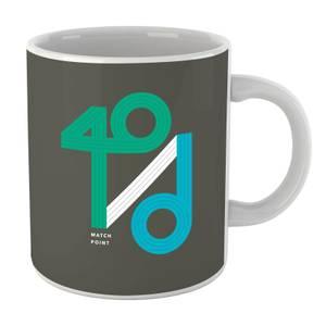 40 / D Match Point Mug