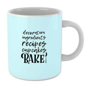 Baking Words Mug