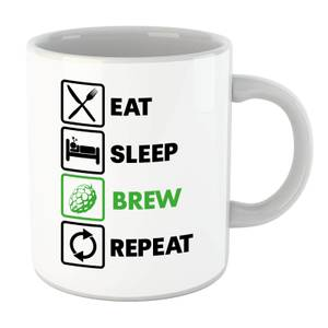 Eat Sleep Brew Repeat Mug