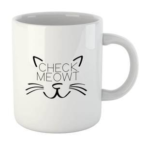 Check Meowt Mug