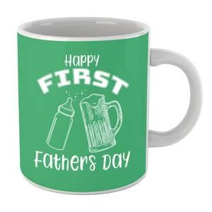 Happy First Fathers Day Mug