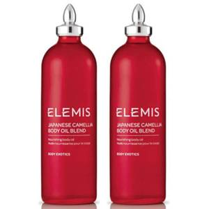 Elemis Japanese Camellia Body Oil Blend 100ml Duo
