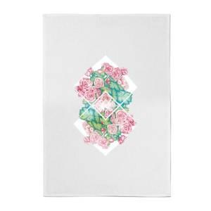 Flowers Cotton Tea Towel