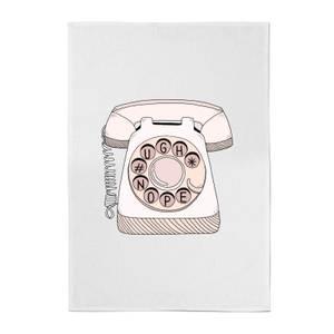 Phone Call Cotton Tea Towel