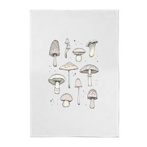 Mushrooms Cotton Tea Towel