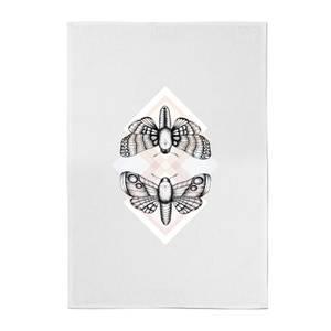 Moth Cotton Tea Towel