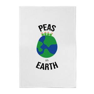 Peas On Earth Cotton Tea Towel