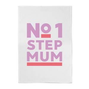 No.1 Stepmum Cotton Tea Towel