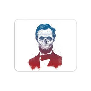 Suited And Booted Skull Mouse Mat